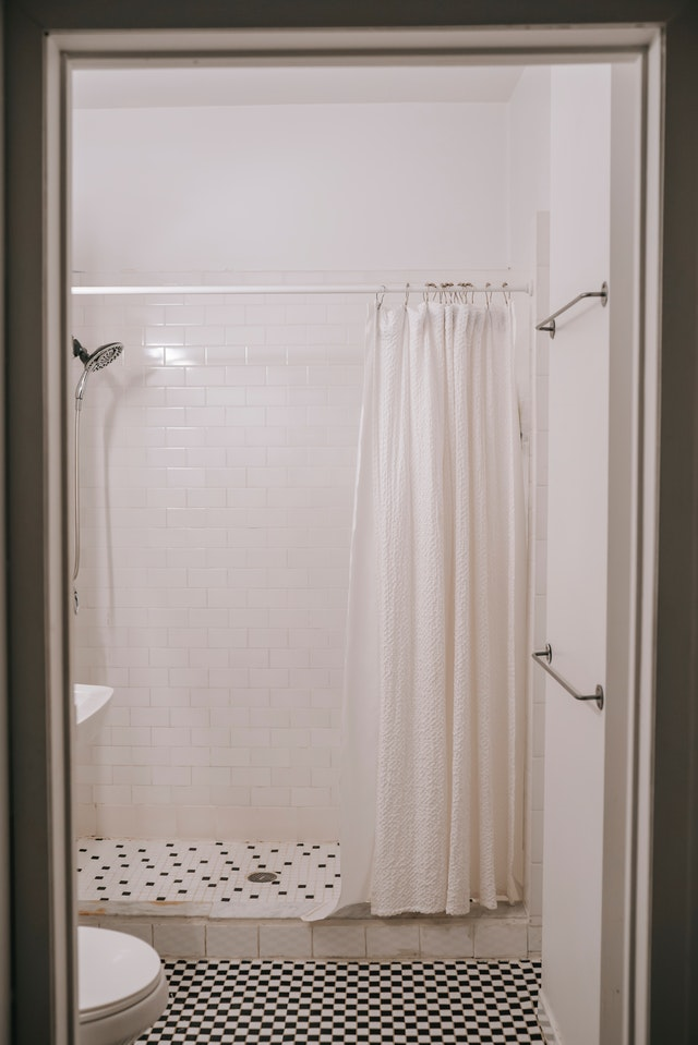 les motifs de rideau de douche